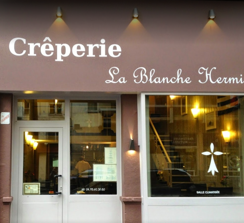 Creperie Blanche hermine Lyon